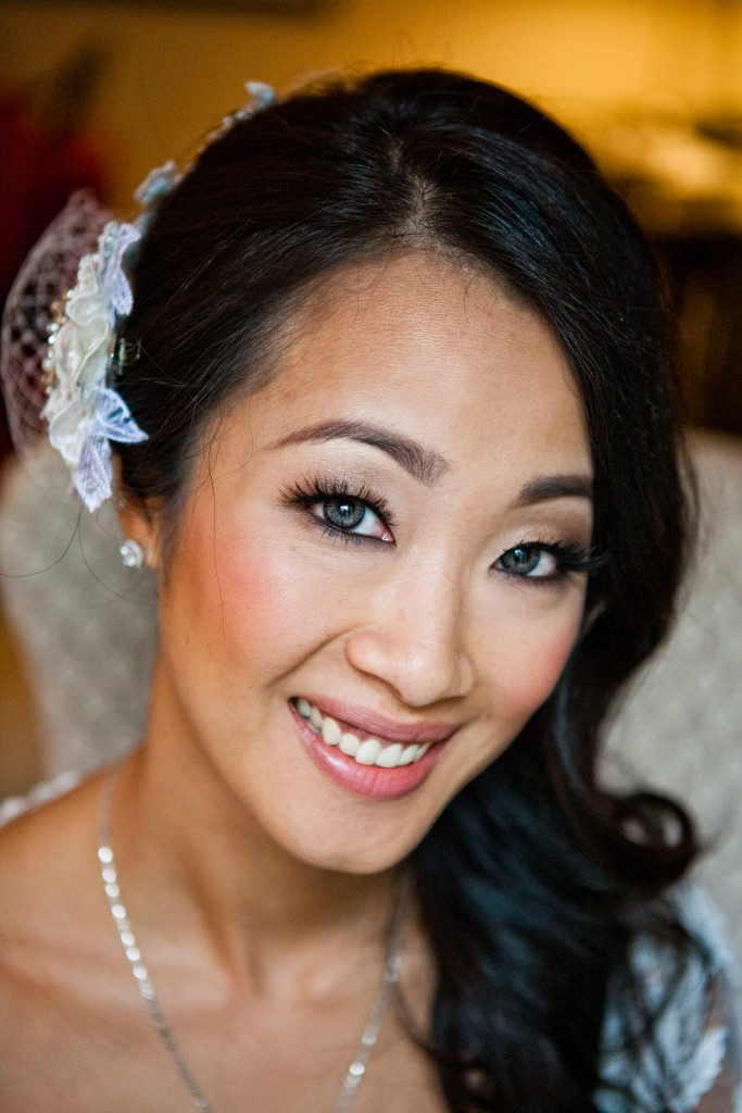 chinese bride up close