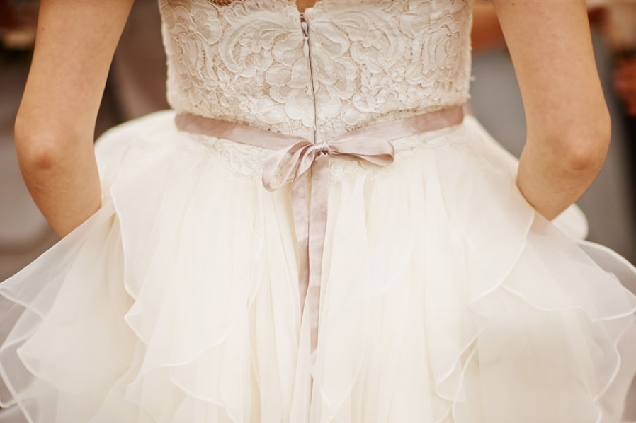 outdoor tent wedding lace gown