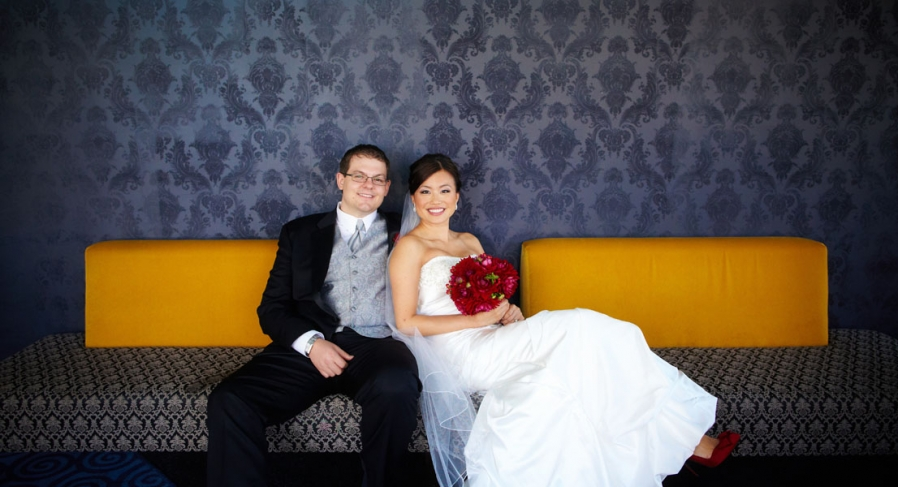 palais royale outdoor tent chinese wedding bride and groom
