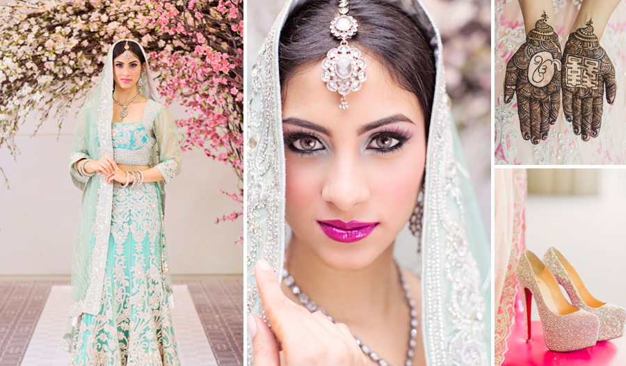 four-seasons-toronto-cherry-blossom-indian-bride-saree