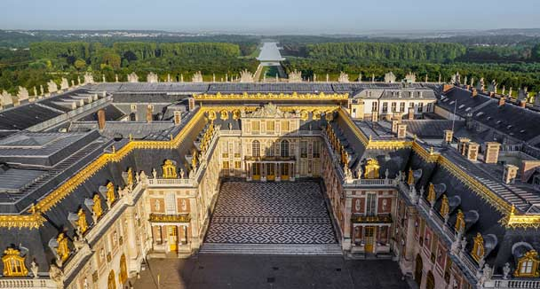 chateau palace of versailles france