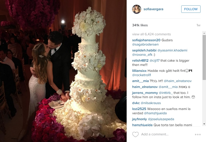 Sofia-Vergara-Joe-Manganiello-Wedding-cake