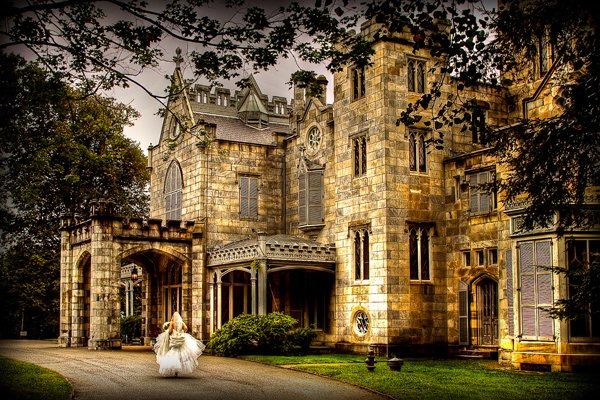 lyndhurst castle entrance new jersey new york wedding