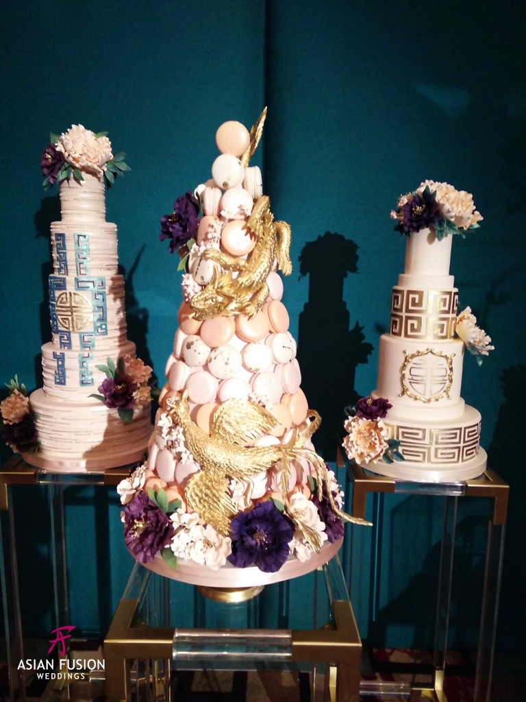 fete chinoise bobette and belle cakes A