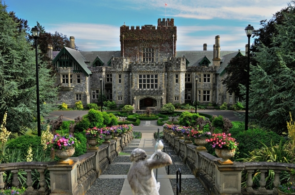 hatley castle building