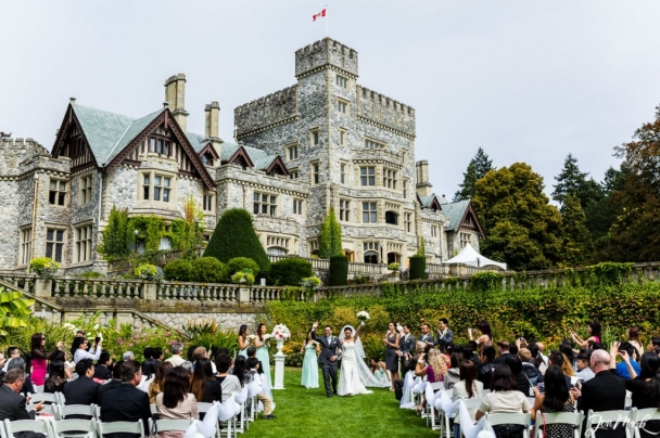 hatley castle victoria vancouver wedding