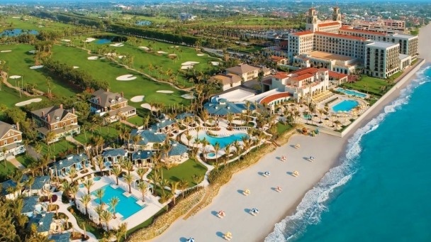 breakers resort aerial view